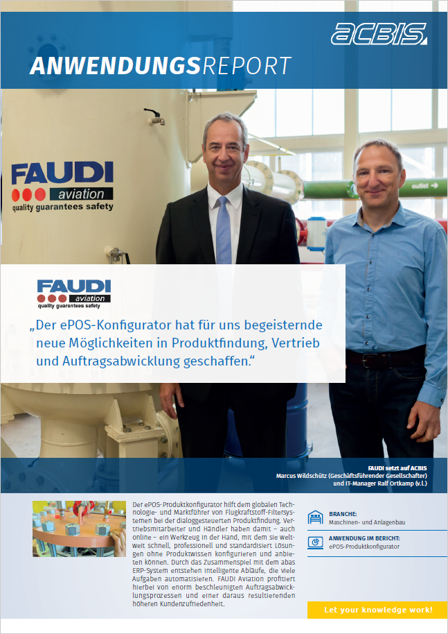 FAUDI Aviation GmbH Anwenderreport