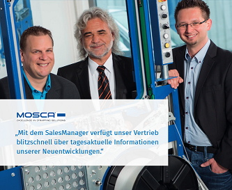 Mosca - CPQ-System SalesManager mit integrierter Produktkonfiguration