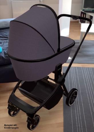 Kinderwagen-Augmented-Reality